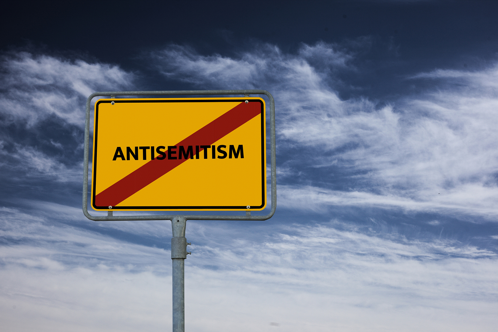 Anti semetism sign
